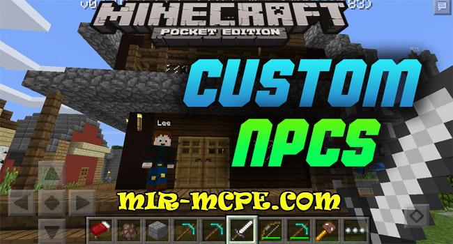 Custom NPC - собственные мобы NPC 1.12, 1.11, 1.10, 1.7, 1.2, 1.1.5