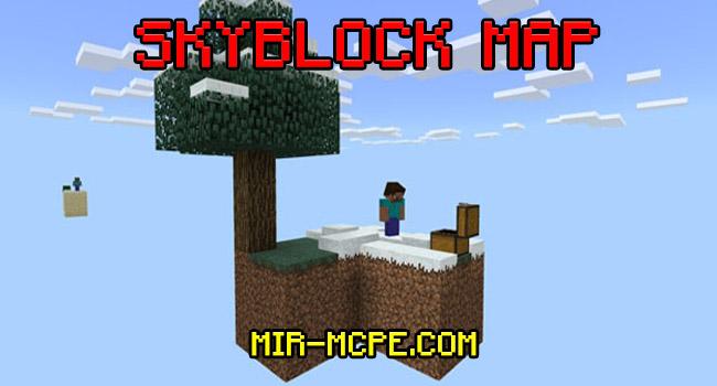 Skyblock - карта Скайблок