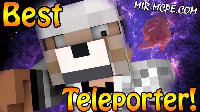 Teleports - мод на телепорт 1.15, 1.14, 1.13, 1.12