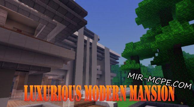 Карта Luxurious Modern Mansion - особняк в джунглях